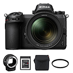 Nikon Z7 Mirrorless Digital Camera with 24-70mm Lens  and  FTZ Mount Adapter Kit