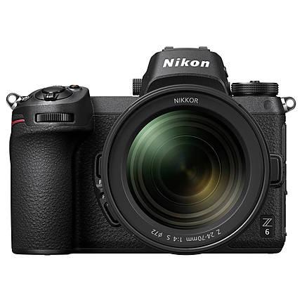 Nikon Z6 FX-Format Mirrorless Camera with 24-70mm f/4 S Lens
