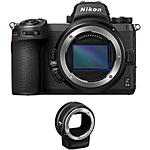Nikon Z6 II Mirrorless Digital Camera with FTZ Adapter
