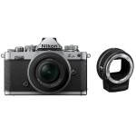 Nikon Z fc Mirrorless Digital Camera with 16-50mm Lens  and  FTZ Adapter