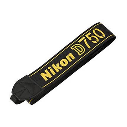 Nikon AN-DC14 Camera Strap for Nikon D750 (Black)