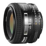 Nikon AF Nikkor 50mm f/1.4D Prime Lens - Black