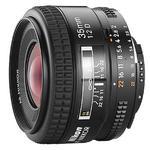 Nikon AF Nikkor 35mm f/2D Wide Angle Lens - Black