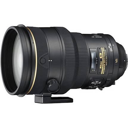 Nikon AF-S Nikkor 200mm f/2G ED VR II Ultra Telephoto Prime Lens - Black