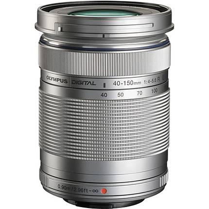 Olympus M.Zuiko ED 40-150mm f/4.0-5.6 R Telephoto Lens - Silver