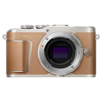Olympus PEN E-PL9 Mirrorless Micro 4/3 Digital Camera (Honey Brown, Body)