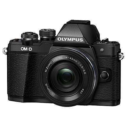 Olympus OM-D E-M10 Mark II Black Body with 14-42mm Black EZ Lens
