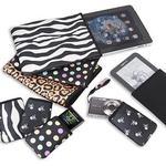 OP/TECH Smart Sleeve 770 Soft Pouch 7.7 x 10.0 Inch Zebra