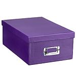 Pioneer Photo Albums 4x7 Photo Storage Box - Purple