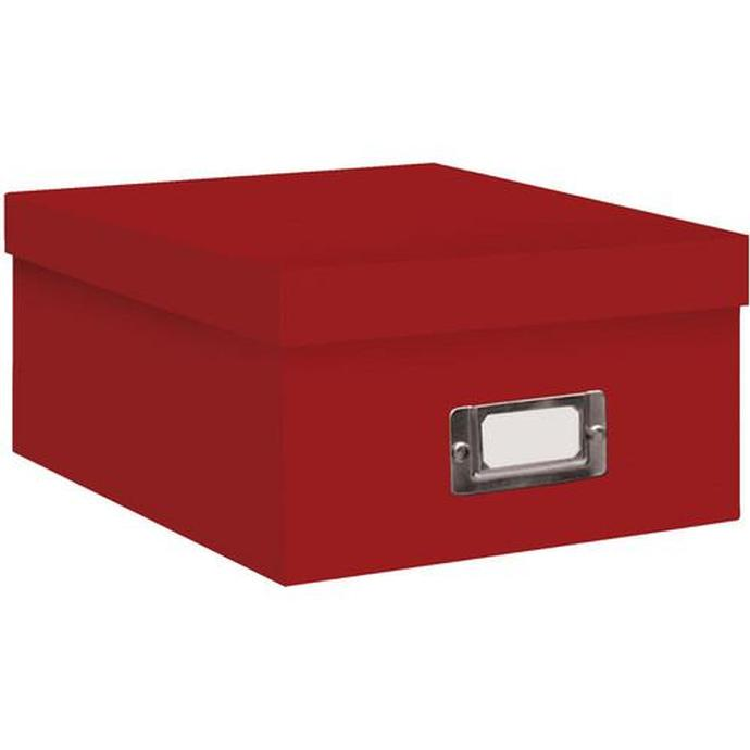 Genial Pioneer Photo Albums 4x7 Photo Storage Box   Red