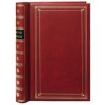 Pioneer 4 x 6 In. Bi-Directional Memo Photo Album (300 Photos) - Red