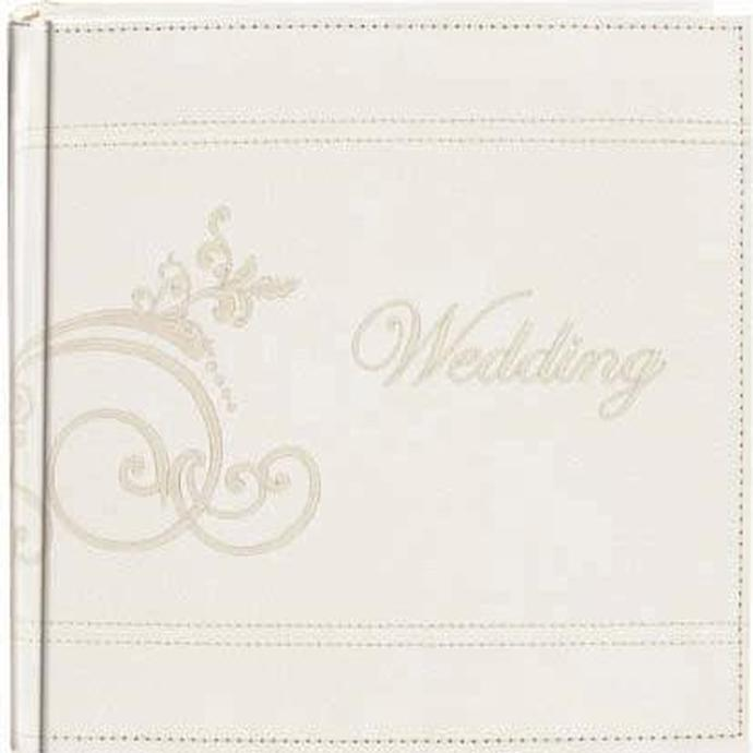 Pioneer 4 X 6 In Embroidered Scroll Leather Wedding Album 200 Photos Albums Pioneer At Unique Photo