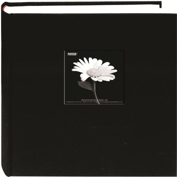 Pioneer 5x7 Cloth Frame Photo Album 200 Photos Black Albums