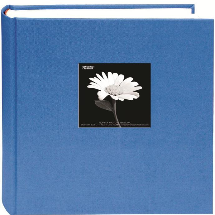 Pioneer 5x7 Cloth Frame Photo Album 200 Photos Blue Albums