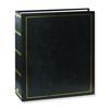 Pioneer Solid Cover Magnetic 3 Ring Photo Album (100 Photos) - Black