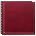 Pioneer 4 x 6 In. Full Size Memo Pocket Photo Album (300 Photos) - Burgundy