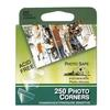 Pioneer Self Adhesive Clear Photo Corners (250 Tabs) Self Adhesive and Acid Free