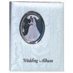 Pioneer 4 x 6 In. Oval Framed Wedding Memo Album (200 Photos)