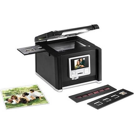Pacific Image ImageBox MF 35mm and 120mm Slide/Film Scanner (Black)