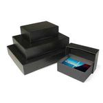 Print File 11x14in 2-Piece Storage Box (Black)