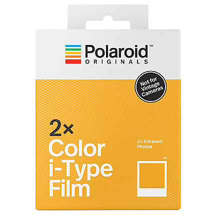 Polaroid Color Film Double Pack for I-Type