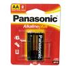 Panasonic Alkaline Plus AA 2 Pack Batteries