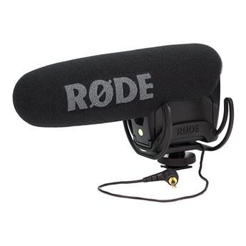 Rode VideoMic Pro with Rycote Lyre Suspension Mount