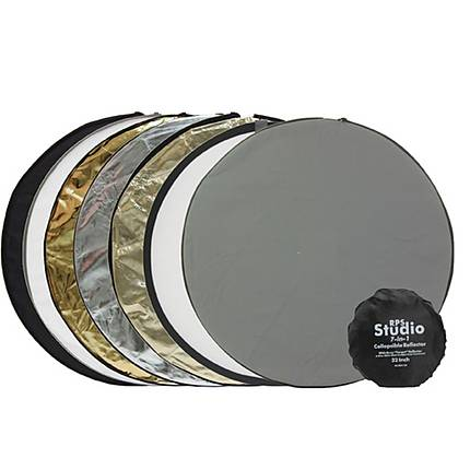 RPS 42 Inch 7-In-1 Collapsible Reflector With Carry/Storage Pouch
