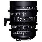 Sigma 18-35mm T2 High-Speed Zoom Lens (Canon EF)