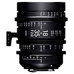 Sigma 18-35mm T2 High-Speed Zoom Lens (PL)