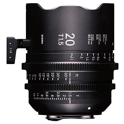 Sigma 20mm T1.5 FF High-Speed Prime Lens (Canon EF)