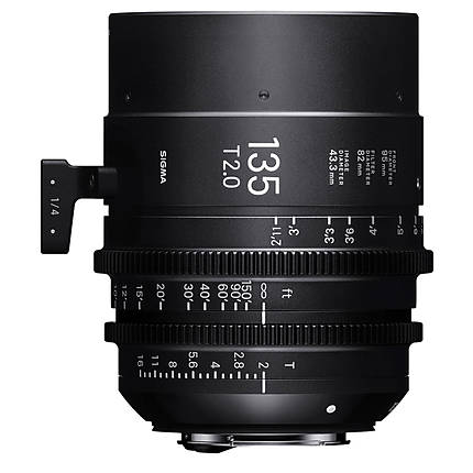 Sigma 135mm T2 FF High-Speed Prime Lens (Canon EF)