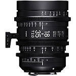 Sigma 18-35mm T2 High-Speed Zoom Lens (Sony E, Metric)