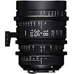Sigma 18-35mm T2 High-Speed Zoom Lens (PL, Metric)