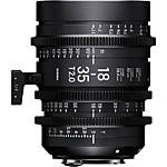 Sigma 18-35mm T2 Fully Luminous High-Speed Zoom Lens (Canon EF)