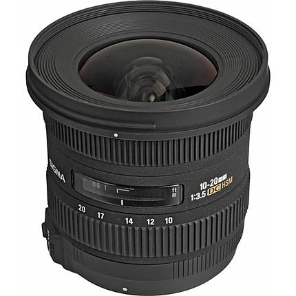 Sigma EX DC HSM 10-20mm f/3.5 Wide Angle Lens for Nikon - Black