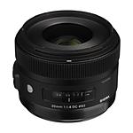 Sigma HSM ART DC 30mm F1.4 Standard Lens for Sony Mount - Black