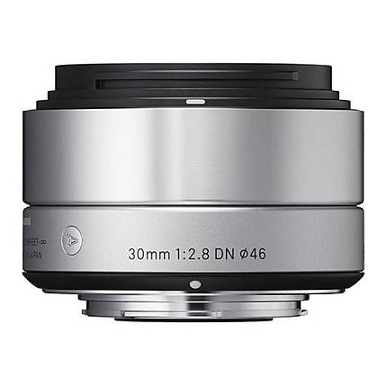 Sigma DN ART 30mm f/2.8 Standard Lens for Micro Four Thirds - Silver