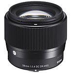 Sigma 56mm f/1.4 DC DN Contemporary Lens for Canon EF-M
