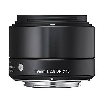 Sigma DN ART 19mm f/2.8 Wide Angle Lens for Micro Four Thirds - Black