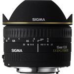 Sigma EX DG Diagonal 15mm f/2.8 Fisheye Lens - Black