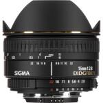 Sigma EX DG Diagonal 15mm f/2.8 Fisheye Lens for Nikon Mount - Black