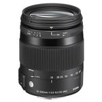 Sigma DC Macro OS HSM 18-200mm f/3.5-6.3 Telephoto Lens for Nikon - Black