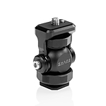 Shape Friction Swivel  and  Tilt Cold Shoe Mount for Monitor, Light  and  Microphone