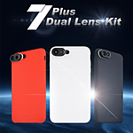 Mobile Phone Case DL-7PG  Gray iPhone 7 plus case (Gray) Duel lens