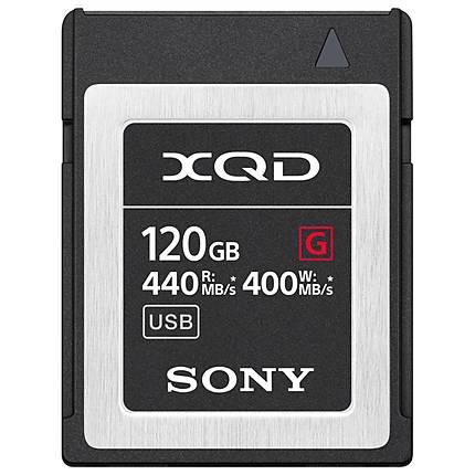 Sony 120GB XQD G Series Memory Card