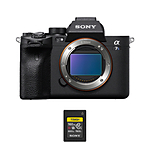 Sony Alpha a7S III Mirrorless Digital Camera with 160GB Memory Card Bundle