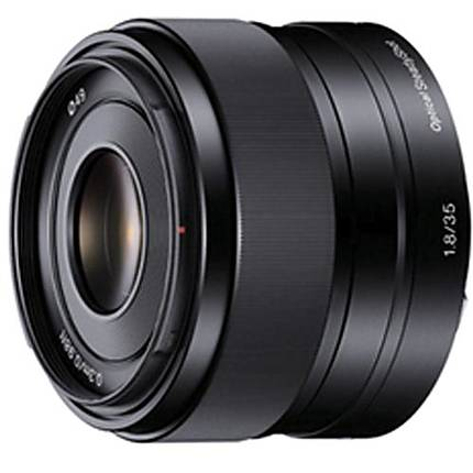 Sony E 35mm f/1.8 OSS E-mount Prime Lens