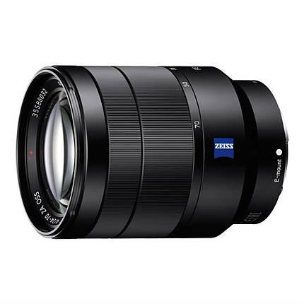 Sony Vario-Tessar T FE 24-70mm f/4 ZA OSS E-Mount Zoom Lens - Black