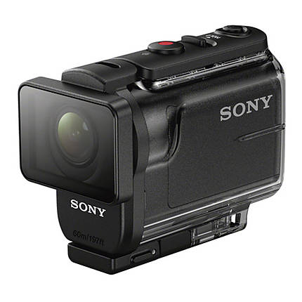 Sony HDR-AS50 Full HD Action Cam with RM-LVR2 Live-View Remote